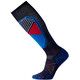 Smartwool PhD Ski Light Pattern - Calcetines - azul